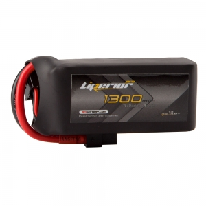 Liperior Pro 1300mAh 4S 75C 14.8V Lipo Battery With XT60 Plug