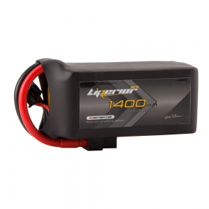 Liperior Pro 1400mAh 4S 75C 14.8V Lipo Battery With XT60 Plug