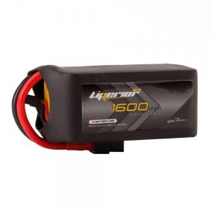 Liperior Pro 1600mAh 4S 75C 14.8V Lipo Battery With XT60 Plug