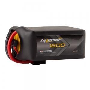 Liperior Pro 1600mAh 6S 75C 22.2V Lipo Battery With XT60 Plug