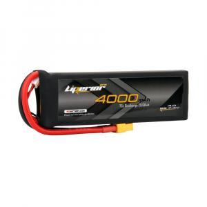 Liperior Pro 4000mAh 2S 75C 7.4V Lipo Battery With XT60 Plug