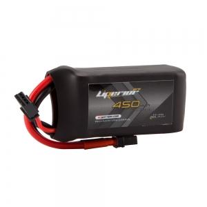 Liperior Pro 450mAh 3S 75C 11.1V Lipo Battery With XT30 Plug