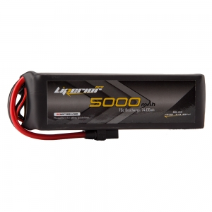 Liperior Pro 5000mAh 4S 75C 14.8V Lipo Battery With XT90 Plug