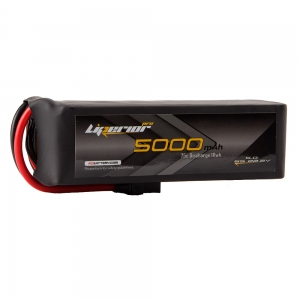 Liperior Pro 5000mAh 6S 75C 22.2V Lipo Battery With XT90 Plug