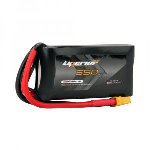 Liperior Pro 550mAh 2S 75C 7.4V Lipo Battery With XT30 Plug