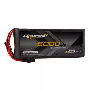 Liperior Pro 6000mAh 4S 75C 14.8V Lipo Battery With XT90 Plug