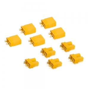 Genuine AMASS XT30U Male/Female Pair plugs (5 Pairs)