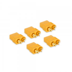 Genuine XT60 Female Connectors (5pcs/bag)