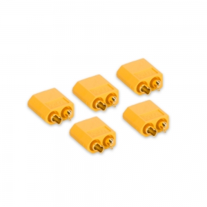 Genuine XT60 Male Connectors (5pcs/bag)