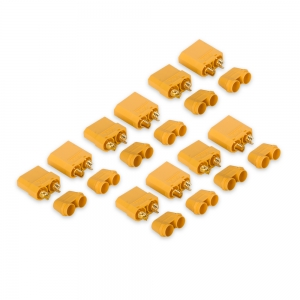 Nylon XT90 Male / Female Connectors with End Cap (5 Sets)